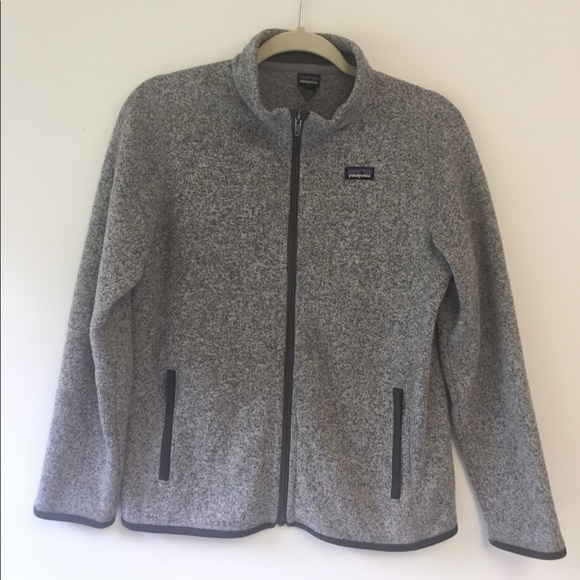 6ea69abf707 Patagonia Girls Better Sweater Fleece Jacket. M 5b72d29b153795132bf39a08